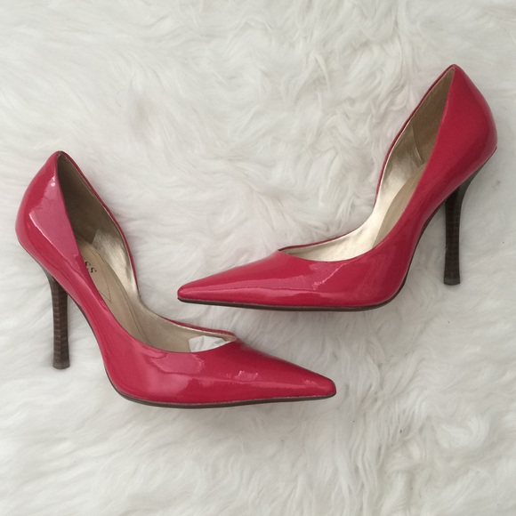 e751e5940ce Pink patent leather GUESS Heel Pumps